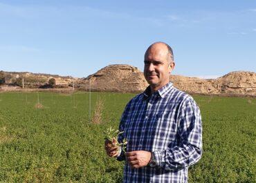 Robert Jaimejuan, agricultor lleidatà, defensarà els interessos dels 120.000 productors europeus de farratge