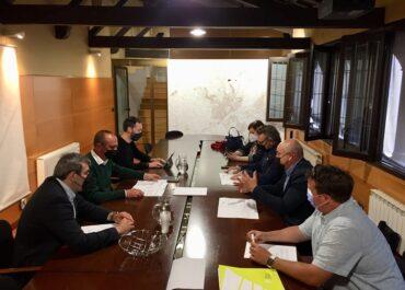 La Paeria es compromet amb JARC a accelerar l'activació del pla de gestió de l'Horta de Lleida